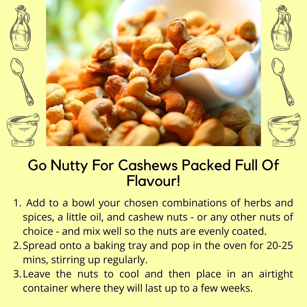 4 Cashew Recipie